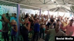 Evangelistas en Cuba. Foto Archivo