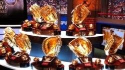 Como dieron los resultados del premio Guantes de Oro en las Grandes Ligas, se dedicó el programa a los ganadores!