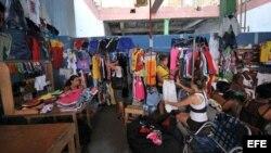 Una tienda de ropa de empresarios cubanos.