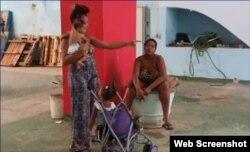 Una opción desesperada ante la falta de vivienda: ocupar un inmueble del estado. (Captura de video/Cubanet)