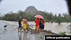 FOTOGALERIA. San Antonio del Sur tras el impacto de Matthew