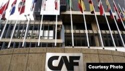 Sede central, en Caracas, de la Corporación Andina de Fomento-Banco de Desarrollo para América Latina.