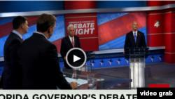 El debate por la gobernación de la Florida fue transmitido por CNN.