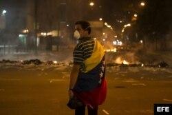 PROTESTA CONTRA EL GOBIERNO DE NICOLÁS MADURO