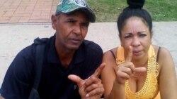 Aimara Nieto Muñoz en celda de castigo en la prisión de Mujeres de Manatí