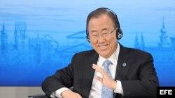El secretario General de la ONU Ban Ki-moon