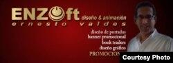 ENZOft diseño y animación, servicios que presta Ernesto Valdes.
