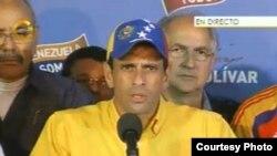 Capriles - Elecciones 2013