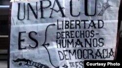 Mensajes antigubernamentales en las calles de Gibara, Holguín