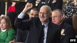 Alan Gross, excontratista estadounidense encarcelado en Cuba en 2009 y liberado en diciembre.