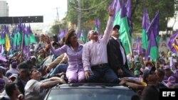 Cierre de campaña de Danil Medina, candidato del gobernante PLD