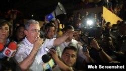 Uribe sobre reunión en Cuba