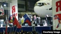 Aviones rusos Il96 para Cuba