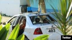 Una patrulla de la policía. Foto Archivo Angel Moya.