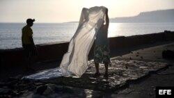 FOTOGALERIA: Baracoa, a tres días del huracán Matthew