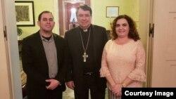 Pastor cubano Mario Félix Lleonard realizó visita de cortesía a Nuncio Apostólico del Vaticano en Washington, Christophe Pierre.