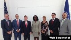 Representantes de Estados Unidos y Cuba sostuvieron este lunes en Washington D.C. una ronda de Diálogo Económico.