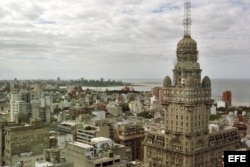 Vista de la ciudad de Montevideo, capital de Uruguay.