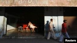 Un bar de Centro Habana.
