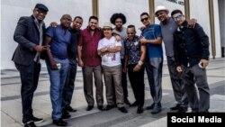 El Septeto Santiaguero durante una visita a EEUU. (Tomada de Facebook)