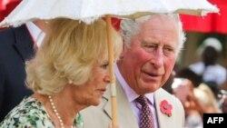 El Príncipe de Gales y Camilla, la Duquesa de Cornwall.