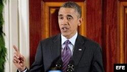 Foto de archivo del presidente estadounidense, Barack Obama.