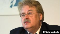 Elmar Brok, presidente del Comité de Asuntos Exteriores del Parlamento Europeo.
