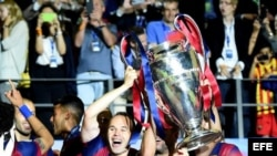 Barcelona Campeón de la Copa Europa