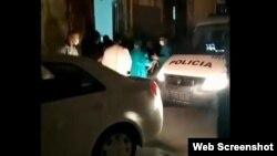 Imagen del desalojo de la sede del Movimiento San Isidro, el 26 de noviembre de 2020.