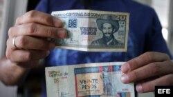 Desde el colapso de la Unión Soviética, los cubanos llevan dos monedas en el bolsillo