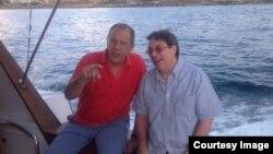 El canciller ruso Serguei Lavrov y su colega cubano Bruno Rodríguez