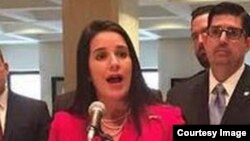 La senadora Anitere Flores, republicana de Miami.