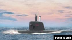 Submarino brasilero.