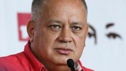 Diosdado Cabello niega contacto con EEUU