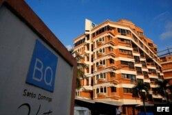 El hotel BQ donde se alojaron Yulieski y Lourdes Gourriel en Santo Domingo.