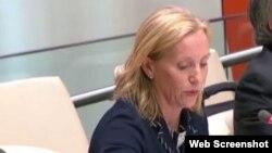 Kelley Currie en ONU: EEUU respalda ansias de libertad de los cubanos