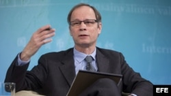 El francés Jean Tirole, ganador del Premio Nobel de Economía 2014.