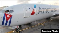 Con vuelos a Cienfuegos y Holguín American Airlines inicia el 7 de septiembre de 2016 sus vuelos regulares a Cuba.