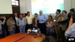 Elecciones presidenciales en Bolivia. (AFP)