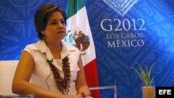 Canciller mexicana Patricia Espinosa