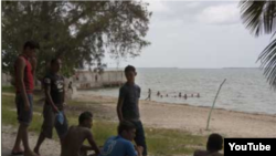 Zona costera en Golfo de Guacanayabo Manzanillo