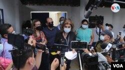 Más de una docena de periodistas han sido citados por el Minsiterio Público de Nicaragua, que ha iniciado una supuesta investigación contra la Fundación Violeta Chamorro. (Foto: Houston Castillo, VOA)