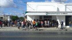 Colas y discusiones matizaron la tarde del sábado en la ciudad de Camagüey