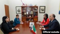 Foto Archivo. Reunión de funcionarios mexicanos y cubanos en la Cancillería de México.