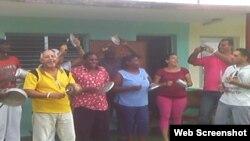 Reporta Cuba Archivo Toque de cazuelas en Pinar del Río