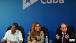 Conferencia en La Habana y DC sobre relaciones diplomáticas.