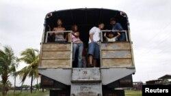 Viajar en camión, el peligro a diario