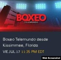 Boxeo Telemundo.