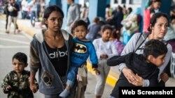 Migrantes venezolanos en Colombia (Noticias ONU)