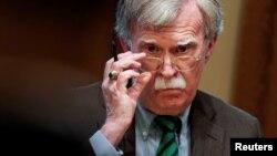 El recién destituido asesor de seguridad nacional de la Casa Blanca, John Bolton, en una foto de archivo. (REUTERS/Joshua Roberts)